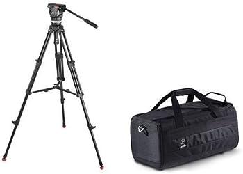 Sachtler Ace M Fluid Head w/ 2-Stage Tripod + Camera Bag