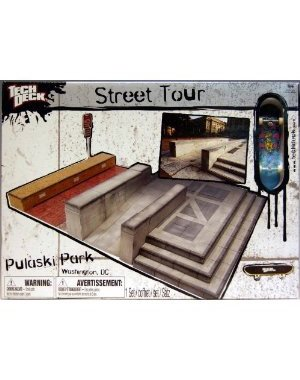 Tech Deck Street Tour Pulaski Park Washington, DC by Spin Master (Image #1)