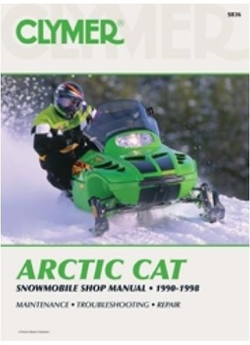amazon com clymer service manual for arctic cat 440 550 580 rh amazon com