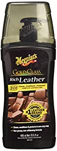 Meguiar's Gold Class Rich Car Leather Cleaner and Conditioner Gel - 400 ml