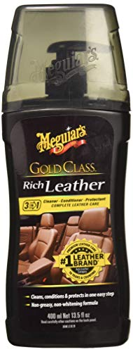 Meguiars Leather Conditioner - Meguiar's G17914 Gold Class Rich Leather