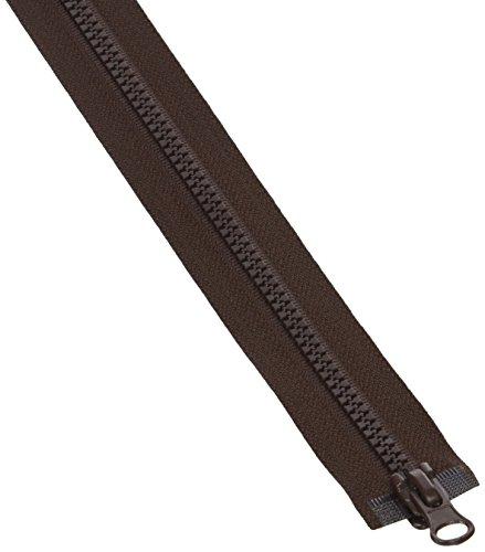 (Coats Thread & Zippers F4428-056B Sport Parka Dual Separating Zipper, 28
