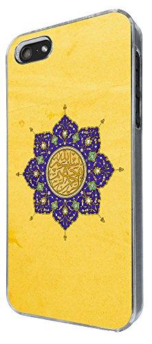 805 - Muslim Prayer Bismillah rahman Design iphone 5 5S Coque Fashion Trend Case Coque Protection Cover plastique et métal