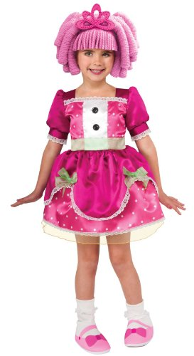Rubies Costumes Lalaloopsy Deluxe Jewel Sparkles Child Costume Pink Small (4-6)