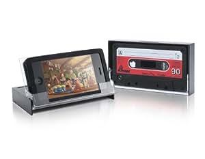 Thumbs Up Retro Cassette - Carcasa para iPhone 4G, diseño de cinta de casete (importado)