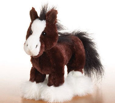 Lil Kinz Clydesdale Horse Brand New Sealed Tag Webkinz