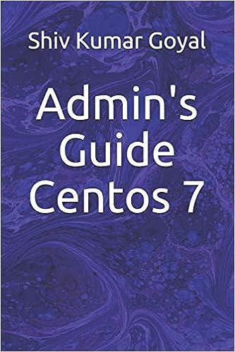 Admin's Guide Centos 7