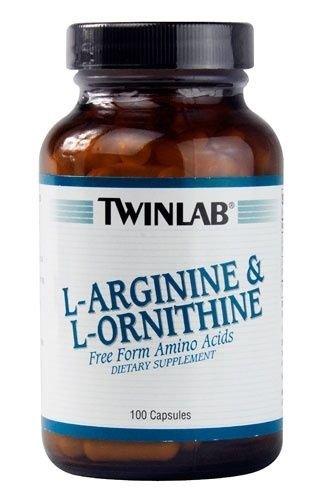 Twinlab L Arginine and L Ornithine 100 cap