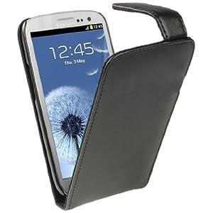 igadgitz Negro Funda de Piel Carcasa Case Cover para Samsung Galaxy S3 III i9300 Android Smartphone + Protector de… 20