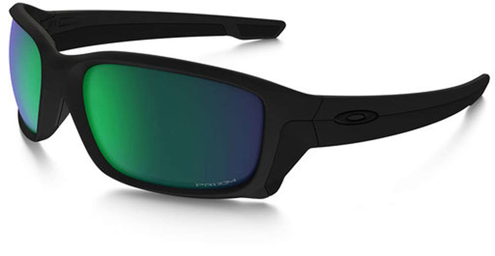 19dd67db1d Amazon.com  Oakley - SI Straightlink - Matte Black Frame-Prizm Maritime Polarized  Lenses  Clothing