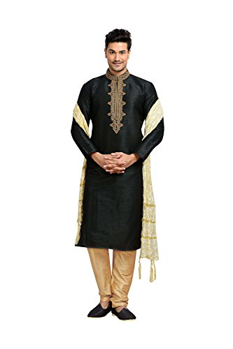 Kurta Pajama For Men Indian Ethnic Wedding Kurta Collections Exclusive Designer Dress by daindiashop-USA
