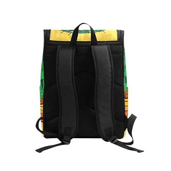 DXG1 Zaino Giallo Cactus Borsa Moda per Donne Uomini Ragazzo Ragazzo Bookbag Viaggio College Casual Zaino Prescolare… 2 spesavip