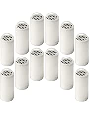 PetSafe Drinkwell 360 Premium Carbon Filters, Dog and Cat Water Fountain Filters, 12 Pack