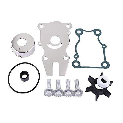 0.75' Salt - Water Pump Repair Rebuild Kit, Keenso Yamaha OEM Water Pump Impeller Repair Kit F40/F50/F60hp Outboard 63D-W0078-01-00