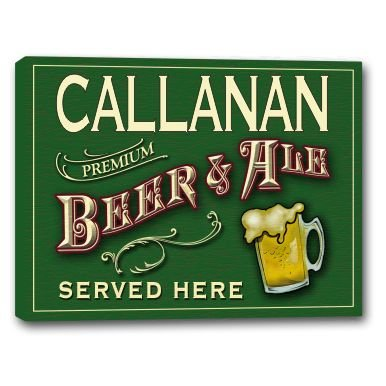 callanan-beer-ale-stretched-canvas-sign-16-x-20