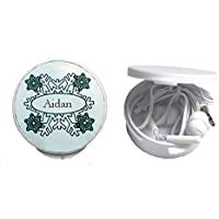 Bargain 'Prox' in-ear headphones in personalized box. Name on the box: Aidan (first name/surname/nickname) save
