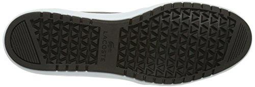 Lacoste AMPTHILL TERRA SHR, Sneaker uomo Marrone (Braun (Dk Brw/Lt Brw 489))