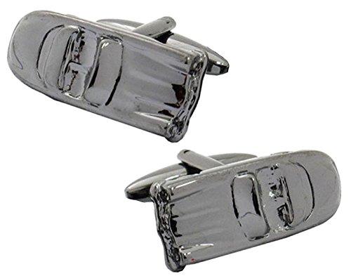 iLuv Gunmetal Cufflinks in Sports Car Design