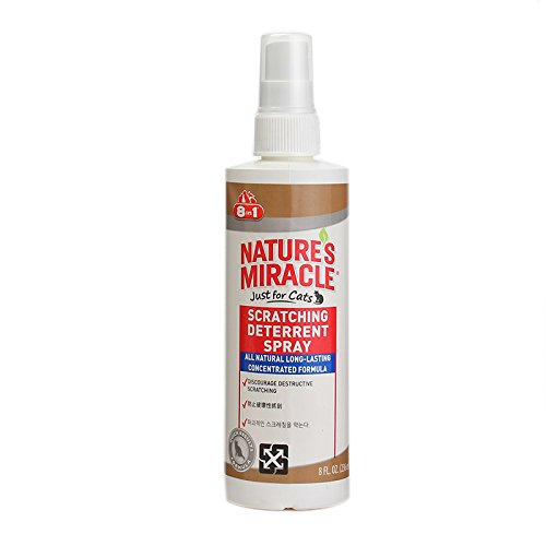 Nature's Miracle Pet Block Repellent Spray, 8-Ounces (P5767) (Miracle Natures People)