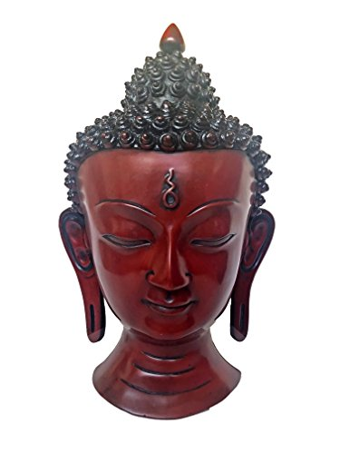 Srawen Meditating Medicine Buddha Tara Shakyamuni Head Statue 8