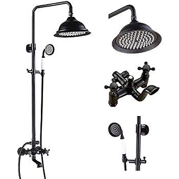 Amazon.com: Nueva Add On ducha para Clawfoot Tub Incluye ...