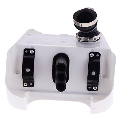Shiwaki Motorcycle Air Filter Box Airbox For Yamaha PW 80 PY80: