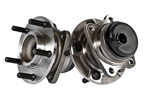 Callahan 512169X2 [2] Pair REAR Premium Grade [ 5 Lug 2WD RWD 4-Wheel ABS ] Wheel Hub Bearing Assemblies [ 512169 ]