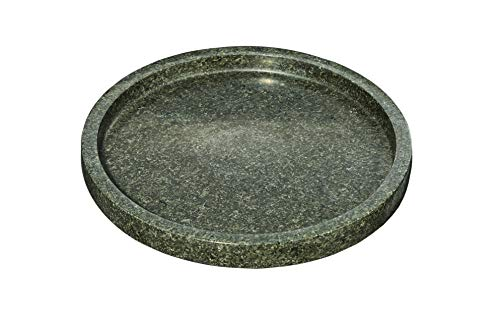 Kota Japan Premium Natural Stone Granite Round Cutting, Serving and Cheese Tray Board | 12