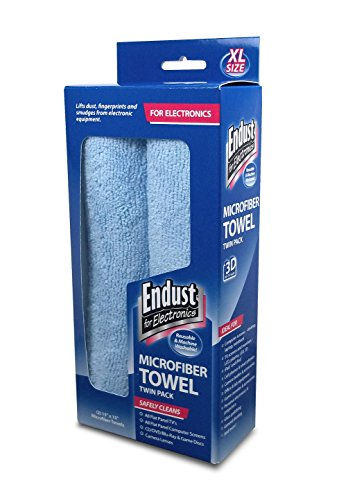 Endust Dry Microfiber Wipes, 2-Pack (END11421) (Endust Electronics compare prices)