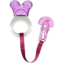 MAM Mini Cooler Teether with Clip, Girl, 2+ Months