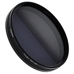 Opteka 52mm HD Multi-Coated Variable Neutral Density (2-8 Stops) Fader Glass Filter