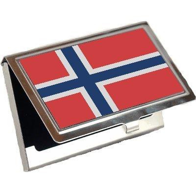Norway Flagビジネスカードホルダー   B001TOAJPW