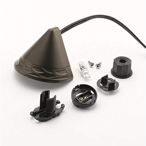 Kichler 2-Watt Olde Bronze Low Voltage Plug-in LED Deck/Step Light