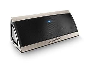 SoundBot SB520 Premium 3D Bluetooth 4.0 Speaker (Gold)