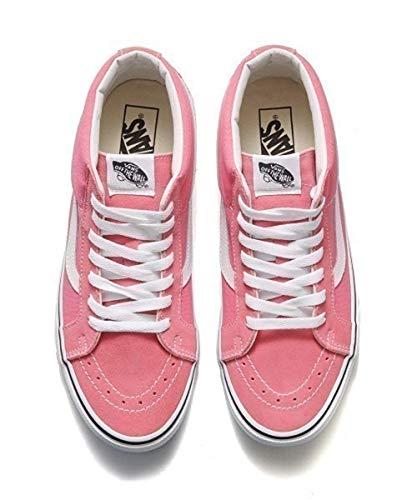 Vans SK8-MID Reissue Pink Lemonade/True White,Size 10.5 M US Women / 9 M US Men