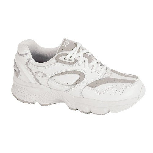 Apex Women's Athletic, White, 7 XW (EE) US