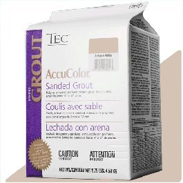 Susan Jablon Mosaics - TEC AccuColor Antique White Sanded Grout - 975lb