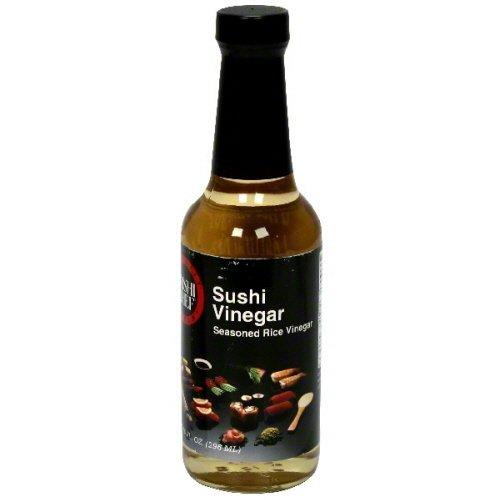 Sushi Chef Seasoned Rice Vinegar 10 oz - Pack of 6 by Sushi Chef