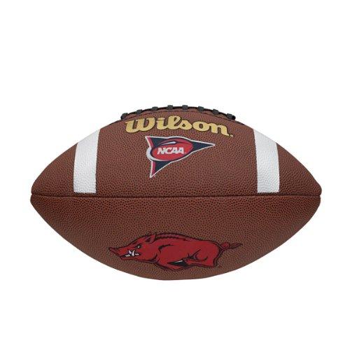Wilson NCAA Arkansas Razorbacks Team Composite Football by Wilson