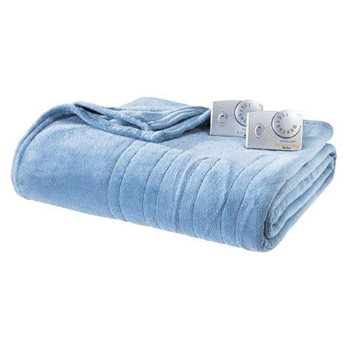 Biddeford Microplush Analog Queen Electric Blanket