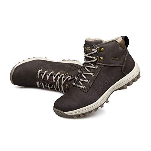 KNOSSOS Winter warm halten halten halten verdickte Männer Outdoor Wanderschuhe Baumwolle Klettern Turnschuhe 46 6dd458