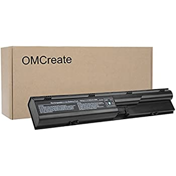 OMCreate Battery Compatible with HP Probook 4540S 4530S 4440S 4430S 4545S 4535S 4330S Series, fits P/N 633805-001 HSTNN-IB2R 633733-321 - 12 Months Warranty ...