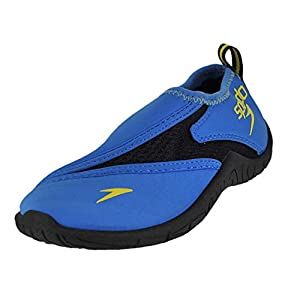 Speedo Kids Surfwalker Pro 2.0 Water Shoes (Little Kid/Big Kid), Blue/Black, 12 US Little Kid