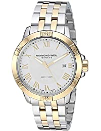 Tango Quartz Stainless Steel Casual Watch, Color:Two Tone (Model: