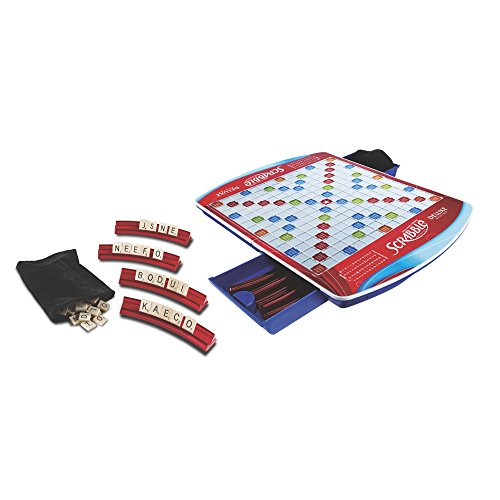 Hasbro Scrabble Deluxe Edition Board Game, Ages 8 and up (Amazon Exclusive) (Scrabble Edition)