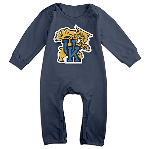 OOKOO Baby's University Of Kentucky Wildcats Bodysuits Outfits Navy 18 Months ()