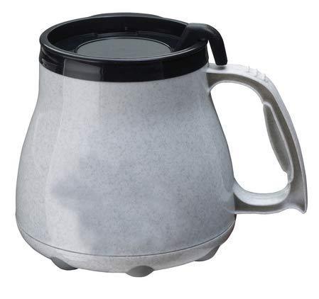 - Low Rider No Tip Desk Mug, Coffee Mug, MADE IN AMERICA (Granite)