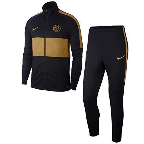 Nike Inter Milan Dry Strike Tracksuit - Black/Gold 2019-2020 - XL