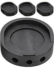 "Winfred 4 STKS Schokabsorberende Wasmachine Pads Universele Anti-Vibratie Pad voor Wasmachine EVA Non-Slip Wasmachine Trillingsmat Ruisonderdrukking Voeten (7 cm/2.8 "", zwart)"