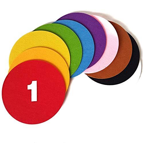 (My Felt Story - 10 Colored Felt Circles 6